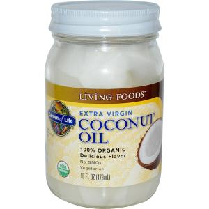 Coconut oil from the supermarket smells great, it works as a lubricant and will cure or prevent yeast infections.